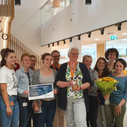 Monique den Boer receives ZonMw Open Science Impuls
